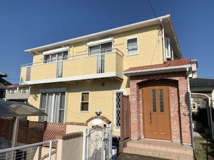 武豊町N様邸 外壁塗装・屋根塗装工事
