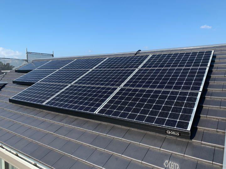 太陽光発電システム施工写真