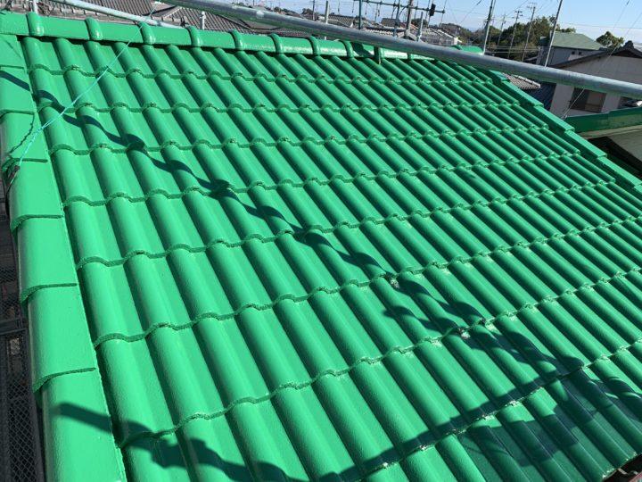 阿久比町U様邸 屋根塗装工事