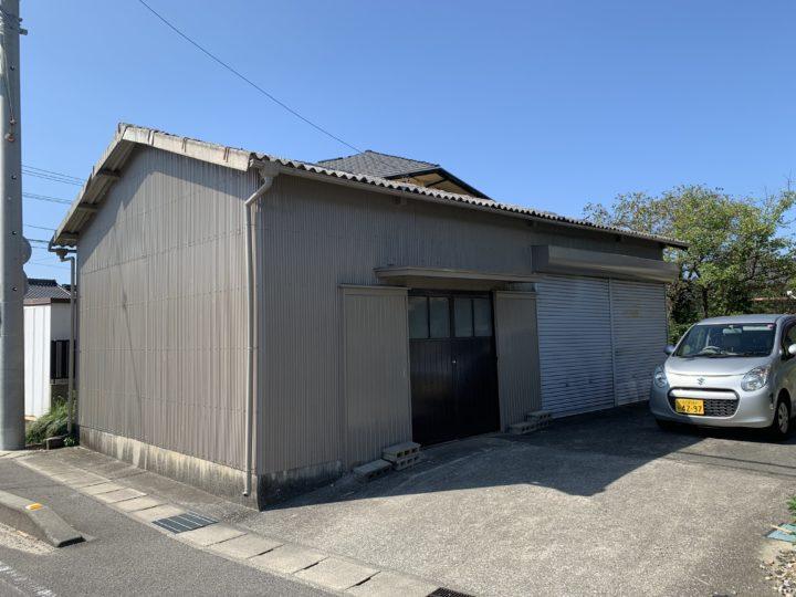 武豊町Y様邸 車庫塗装工事