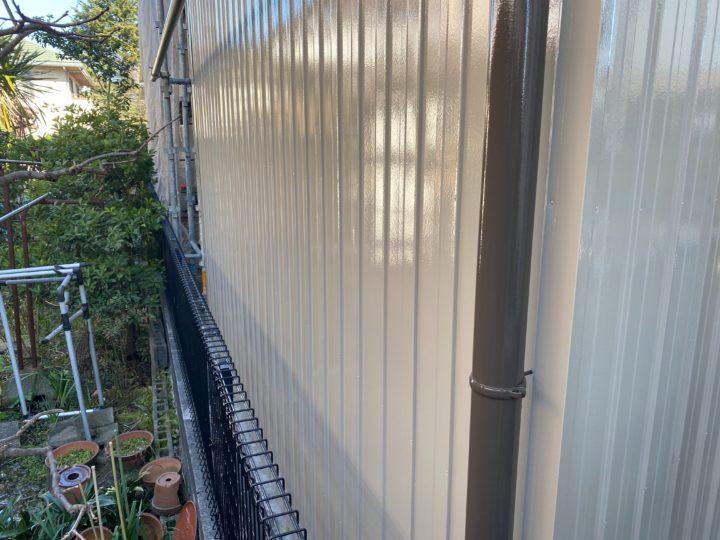倉庫外壁・塗装完成