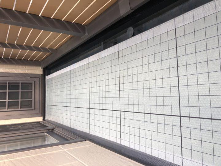 ベランダ防水・通気緩衝シート(平場)