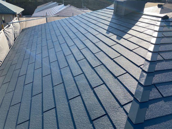 屋根・塗装完成