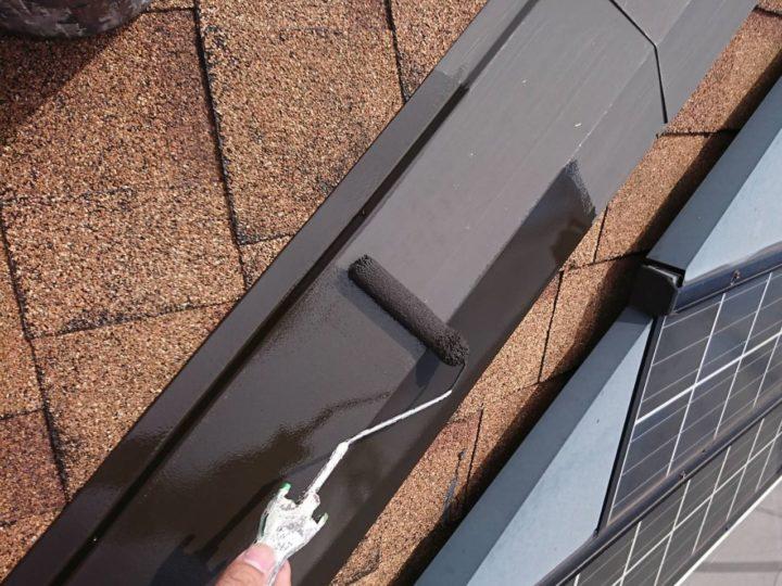 付帯・屋根板金1回塗り
