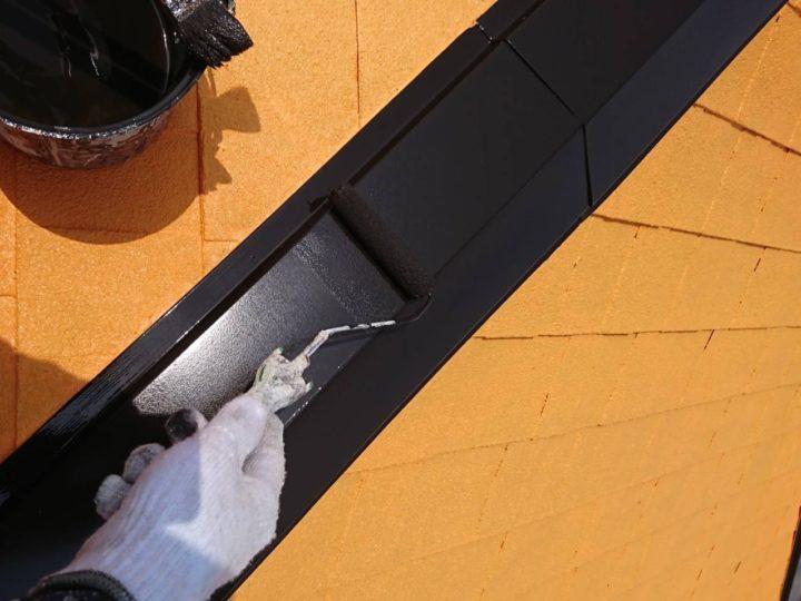 付帯・屋根板金2回塗り