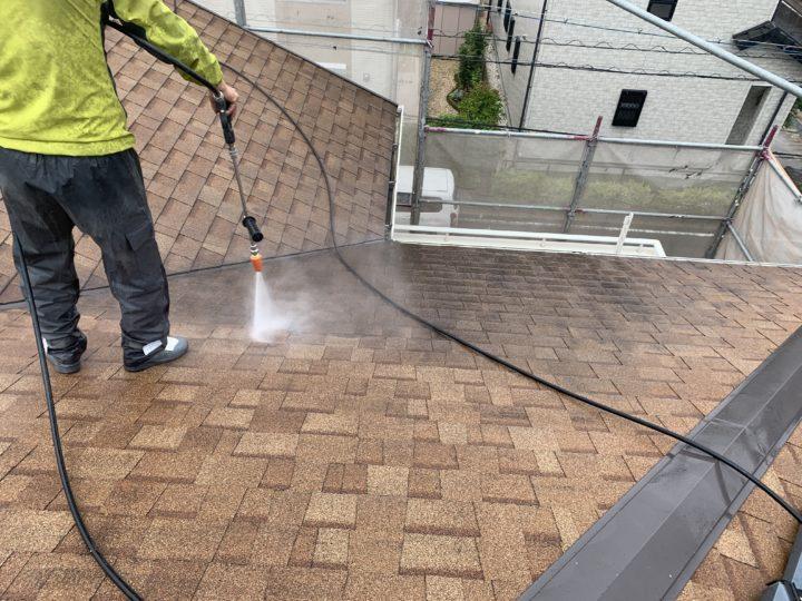 屋根・洗浄