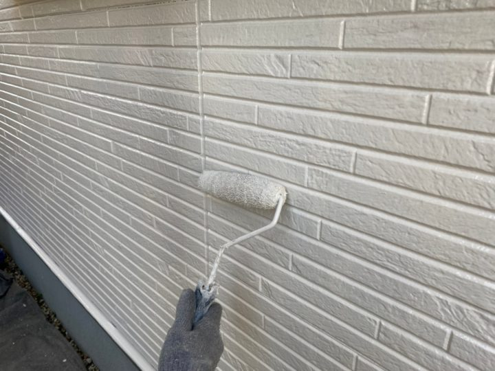 上塗り(外壁)