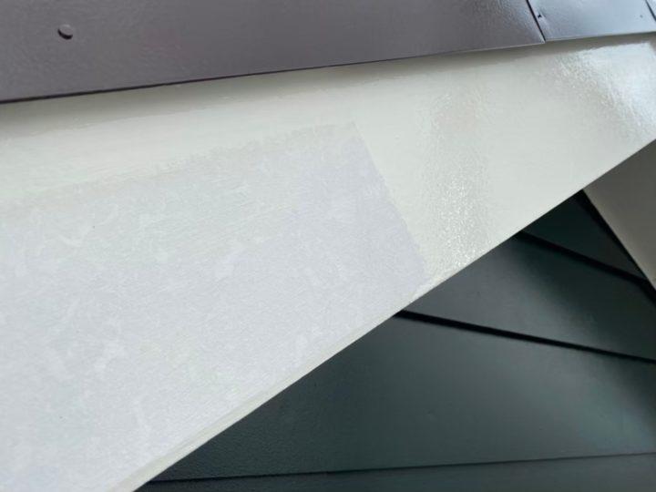 1回目塗装(付帯・破風板)