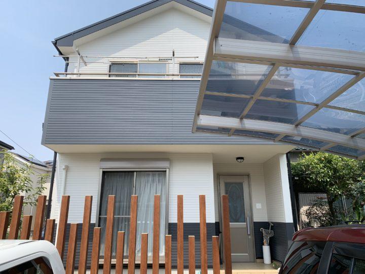 半田市T様邸 外壁屋根塗装工事