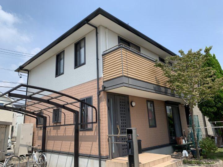 半田市B様邸 外壁屋根塗装工事
