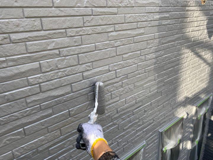 外壁・上塗り