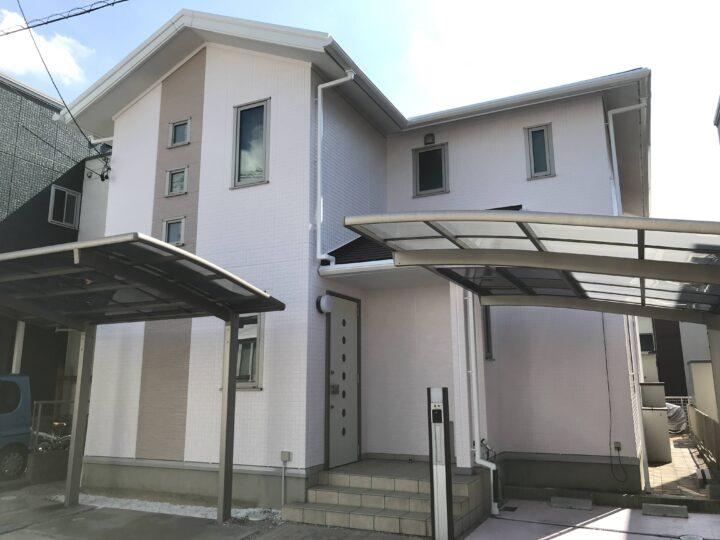 東浦町F様邸 外壁屋根塗装工事