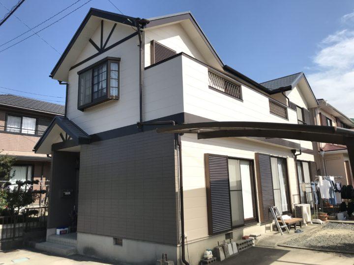武豊町K様邸 外壁塗装工事