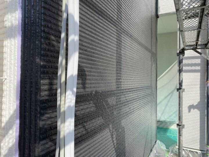 外壁・中塗り