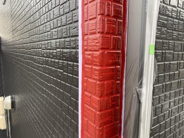 外壁・色分け中塗り