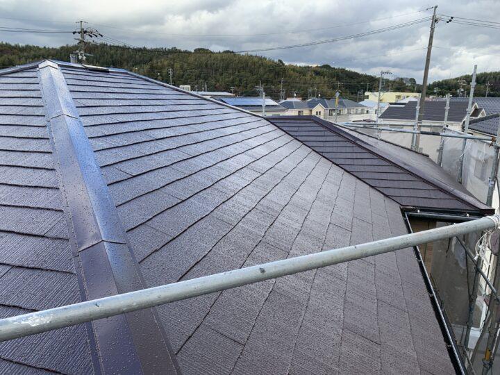 屋根の塗り替えがよくわかる!|美浜町M様邸 屋根塗装工事