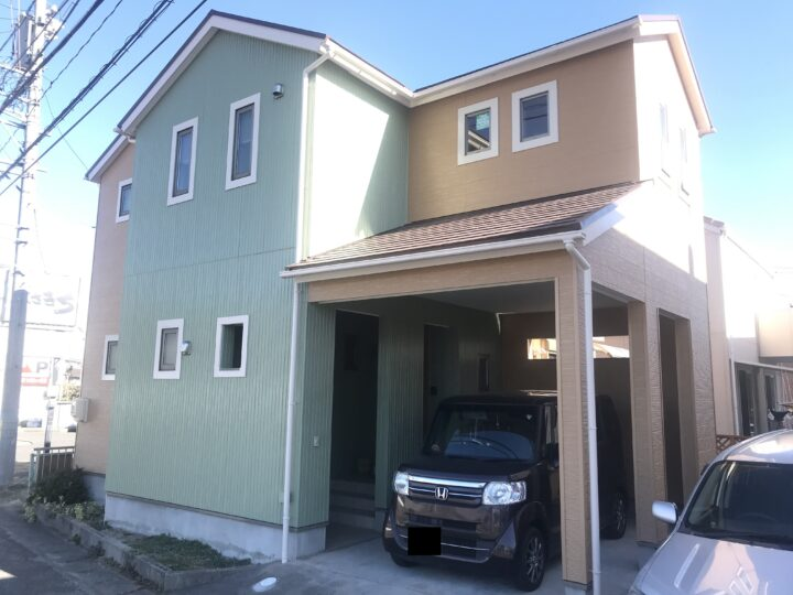 東海市F様邸 外壁屋根塗装工事