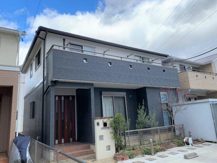 武豊町T様邸 外壁屋根塗装工事