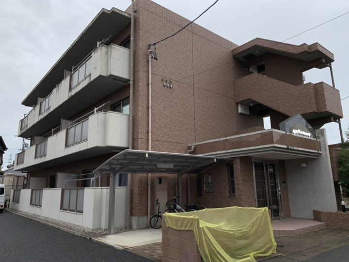 丹羽郡マンション 外壁塗装工事