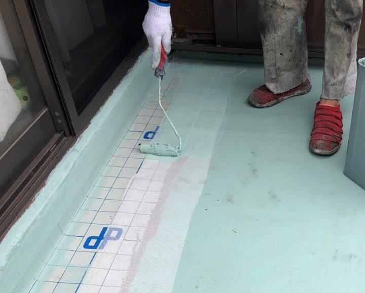 ベランダ防水 雨漏れ