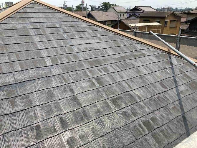 屋根 シーラー処理完了