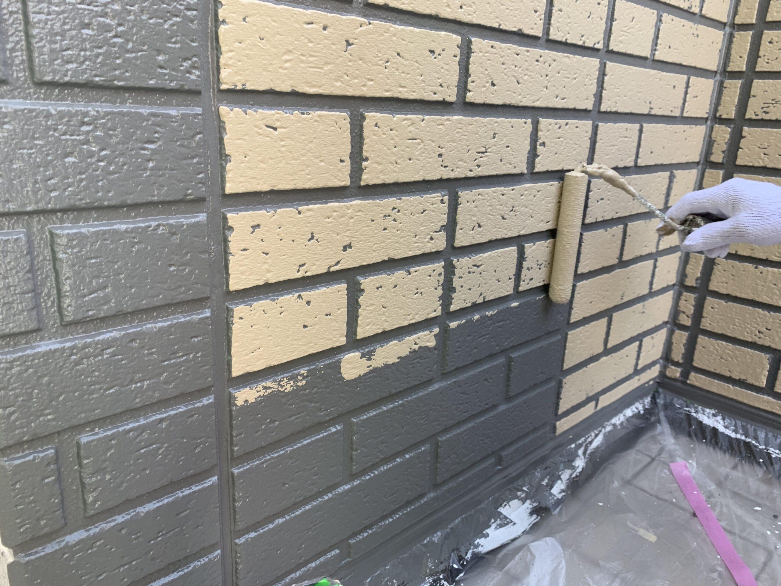 常滑市 外壁塗装 色分け