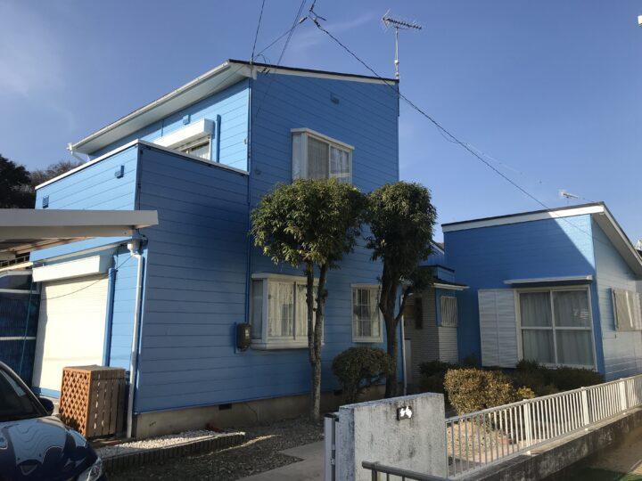 美浜町K様邸 外壁塗装工事