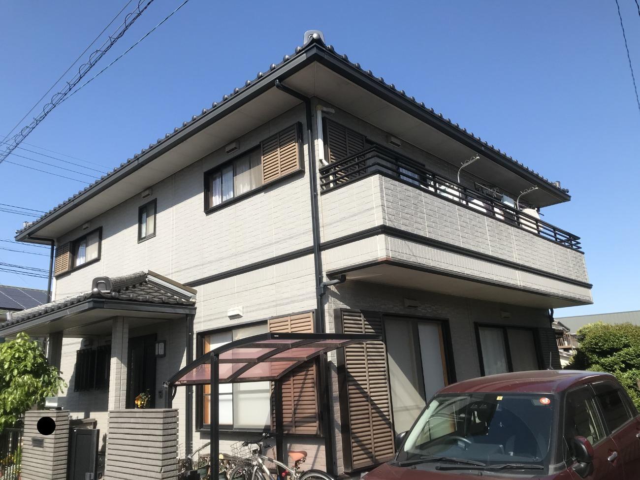 大府市 屋根塗装