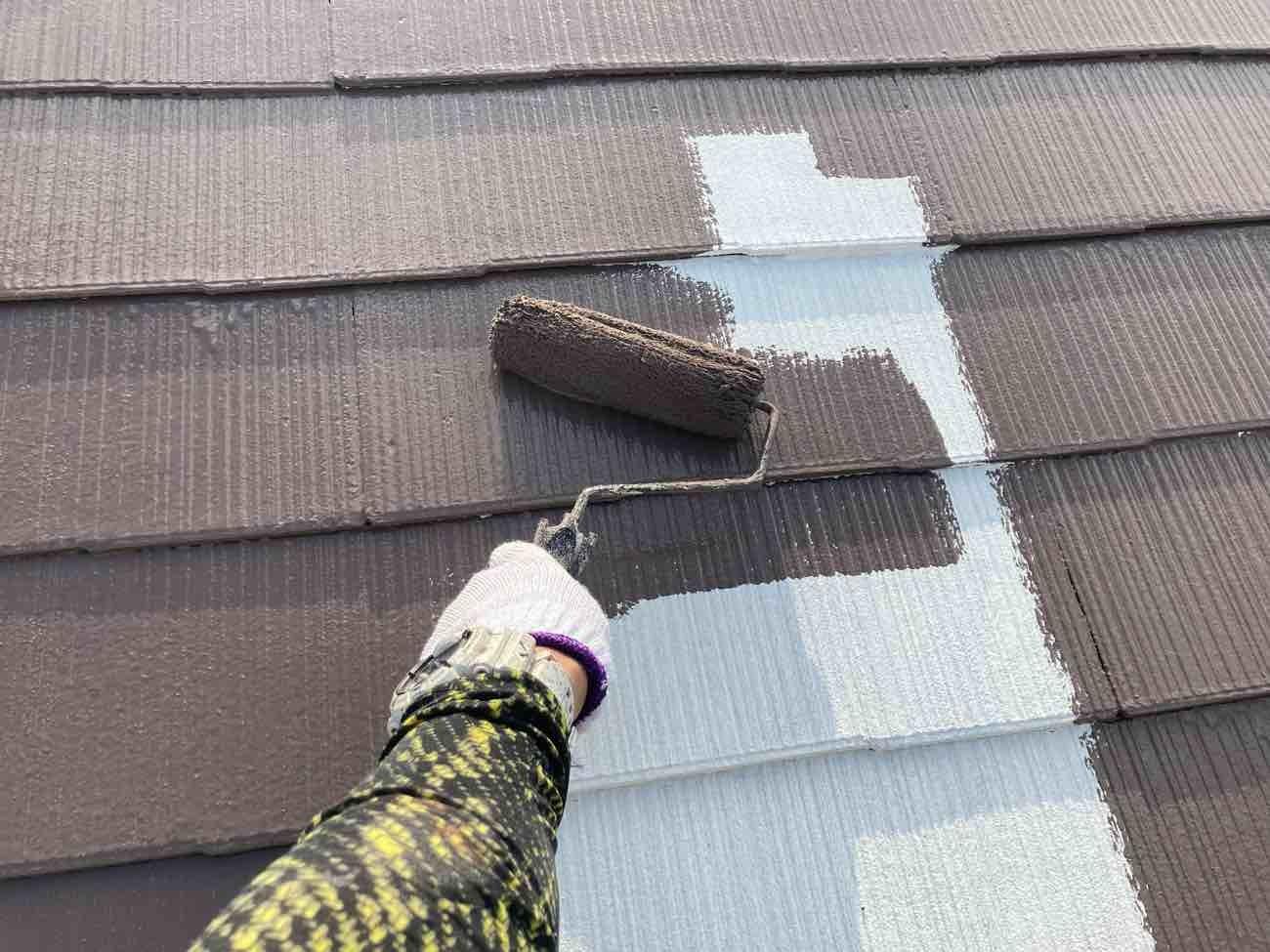 知多市 屋根塗装