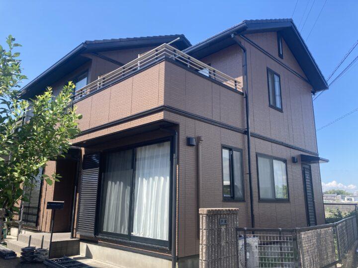 武豊町T様邸 外壁塗装工事・屋根塗装工事